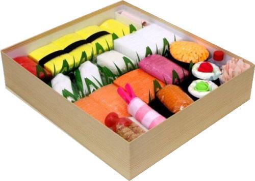 出産祝いにあげたくなっちゃう、おむつ寿司や おむつケーキ