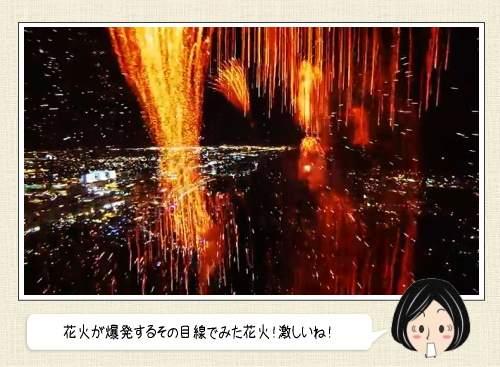 花火の中にカメラが突入したら、こんな映像がみれたよ