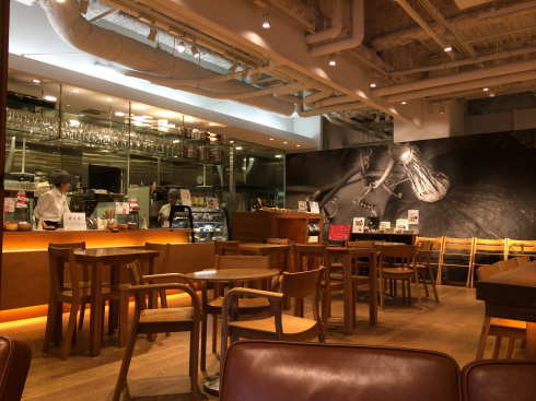 CafeMUJI キャナルシティ博多店 店内の様子