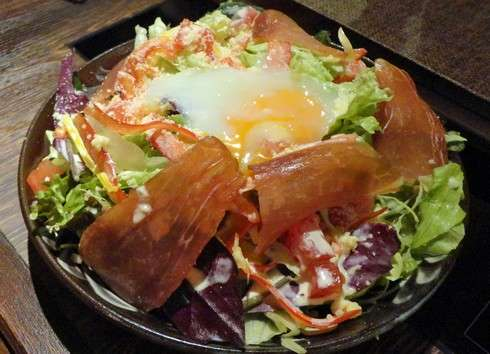 しまぶた屋 サラダ