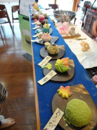 喫茶きはる 和菓子の画像