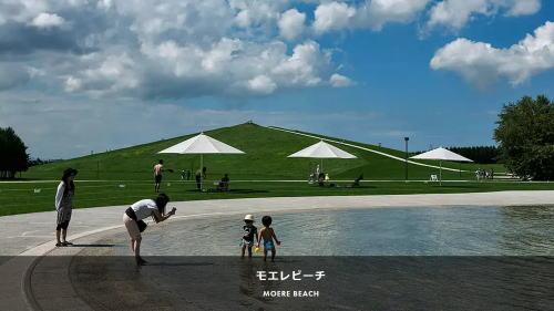 モエレビーチ、札幌 モエレ沼公園