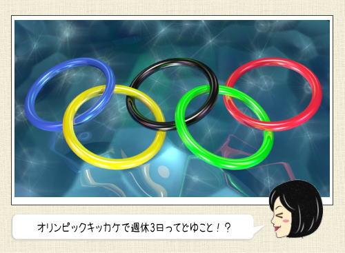 東京オリンピックのおかげで週休3日!?ライフスタイル改革実現する?