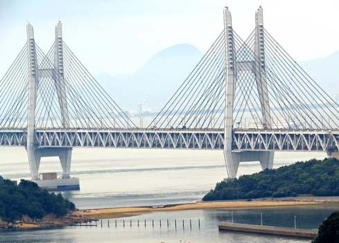 瀬戸大橋の風景