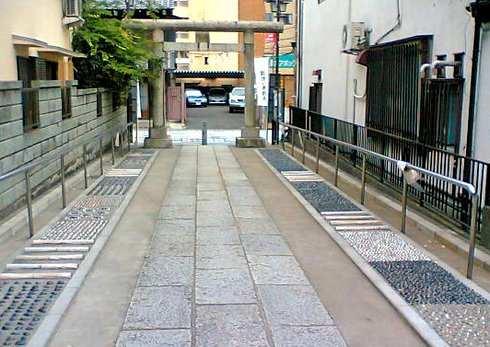 川越熊野神社の足ツボ