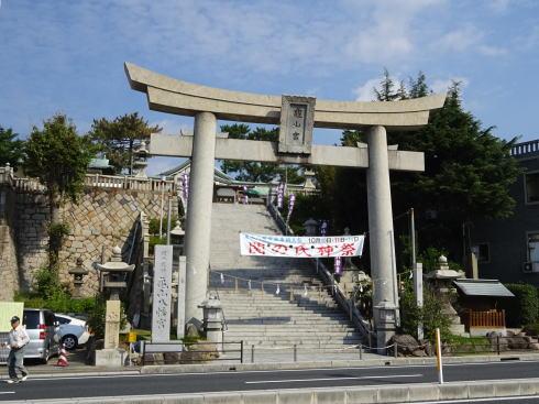 下関 亀山八幡宮 外観