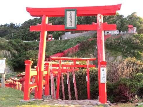 元乃隅稲成神社から龍宮の潮吹へ