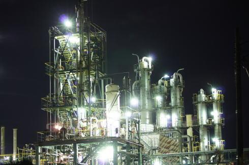 周南コンビナート 工場夜景 画像9