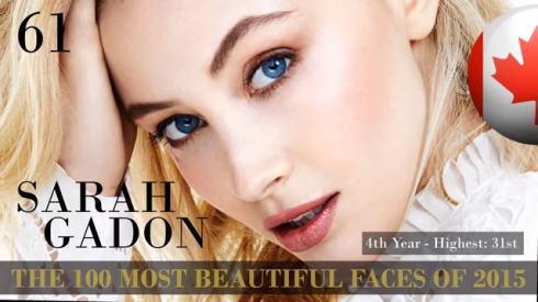 2015世界で最も美しい顔100 61位