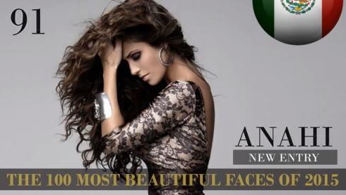 2015世界で最も美しい顔100 91位