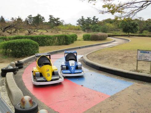 鳥取砂丘こどもの国 バッテリーカー