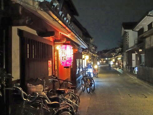倉敷・美観地区の夜景 画像5