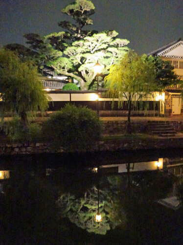 倉敷・美観地区の夜景 画像4