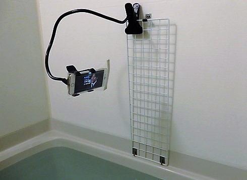 ダイソーの防水カバー、iphone6