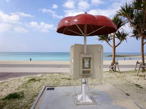 美らSUNビーチ、シャワー施設