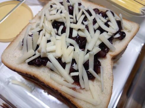 ホットサンド レシピ2 具とチーズ