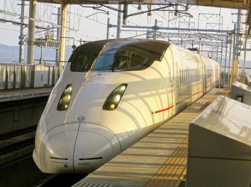 九州新幹線 800系新幹線 外観