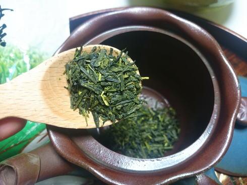緑茶 茶葉は多めが美味しい