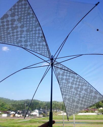 100均ビニール傘をマスキングテープでデコ 画像3