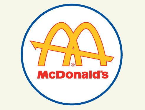 マクドナルド、ロゴの変化と歴史