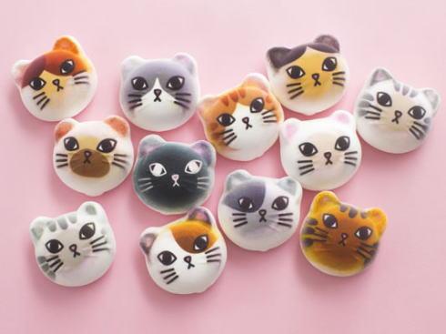 フェリシモ猫部 ポップアップショップで発売するマシュマロ