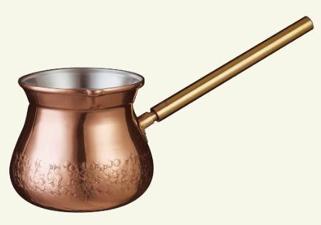 トルココーヒーを淹れる時に使う イブリック