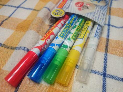 サランラップに書けるペン 6色セット