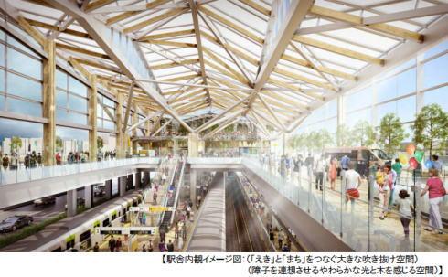 品川新駅 イメージ画像2
