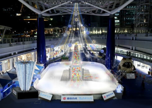 氷じゃないスケート場「豊田合成リンク」愛知に11月オープン!濡れない冷たくナイ!