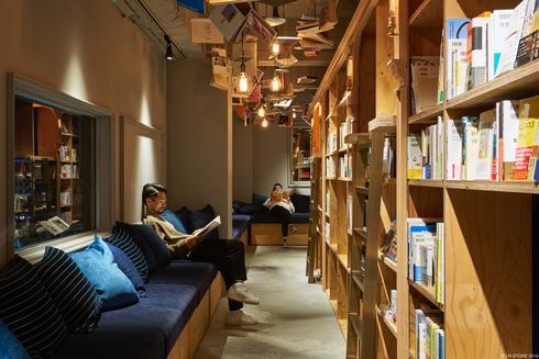 京都の泊まれる本屋、BOOK AND BED TOKYO 京都店
