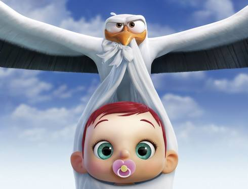 可愛すぎる赤ちゃんにメロメロ!映画「コウノトリ大作戦!」