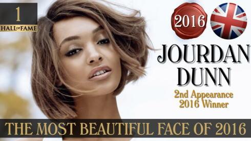 2016年 世界で最も美しい顔100人 1位