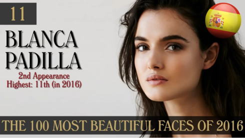 2016年 世界で最も美しい顔100人 11位