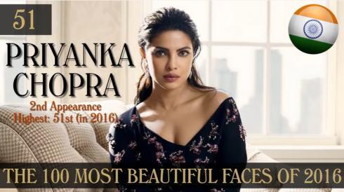 2016年 世界で最も美しい顔100人 51位
