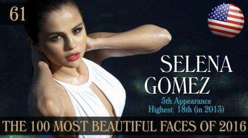 2016年 世界で最も美しい顔100人 61位