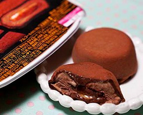 ロッテ 濃厚生チョコ 芳醇ショコラ、セブンイレブンから大人な冬アイス