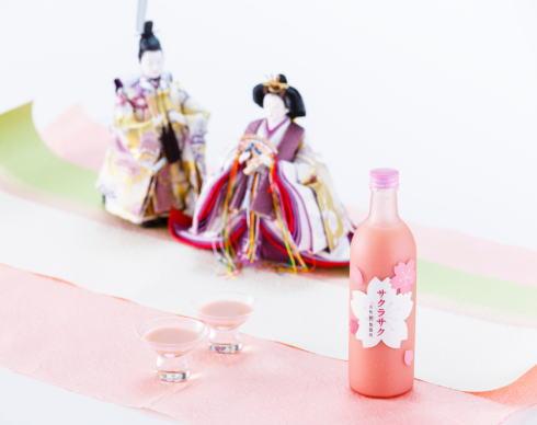 桜色がかわいい甘酒「サクラサク」春限定で