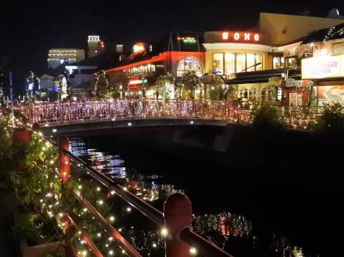 沖縄北谷 デポアイランドの夜景6