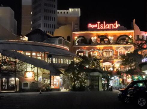 沖縄北谷 デポアイランドの夜景2