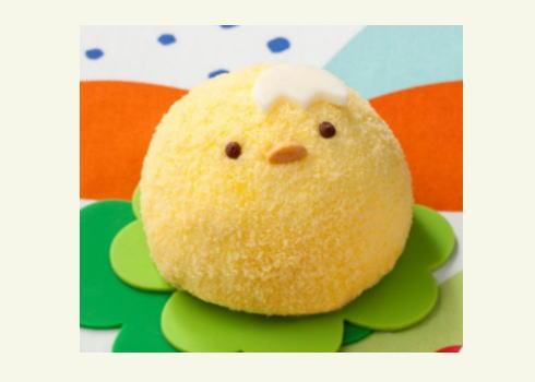 セブンからことり・うさぎのムースケーキ!4.16イースタースイーツ