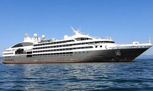 ロストラル、美食のクルーズ船 広島港と宮島に寄港