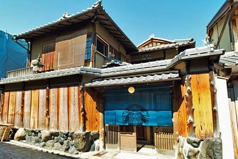 日本家屋のスタバ! 京都二寧坂ヤサカ茶屋店、景観重視の行列禁止店