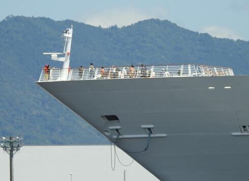 マリナーオブザシーズの船首