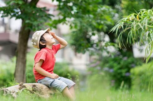 子供やお年寄り 熱中症に注意