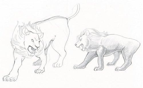 わらアートまつり2017の目玉、ライオンのデザイン