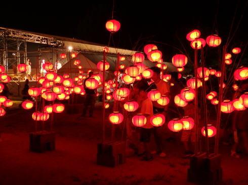 山口七夕ちょうちんまつり の風景2