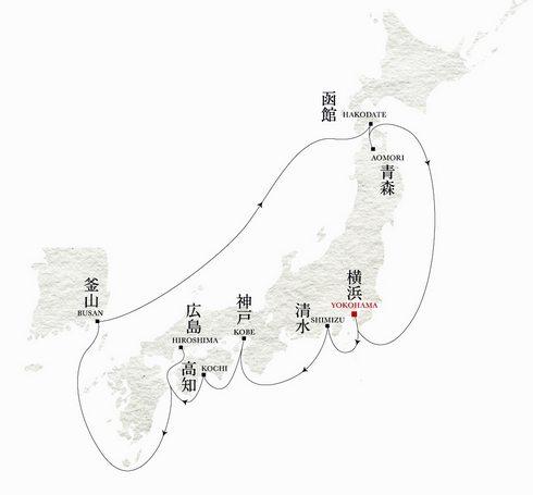セレブリティミレニアムで日本一周の旅