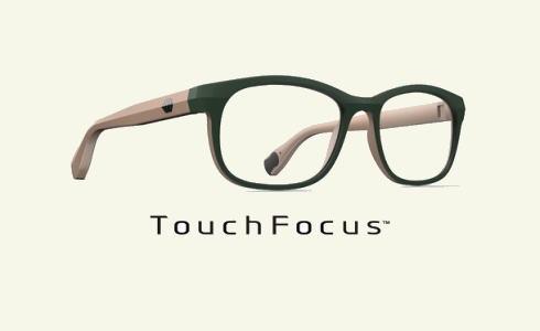 タッチフォーカス、ワンタッチで遠近切り替える次世代メガネ誕生