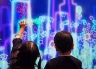 マクドナルドで子供が夢中!デジタルプレイランド、チームラボの映像アート導入へ