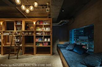 泊まれる本屋?東京にベッド付き BOOK AND BED TOKYO本棚で寝られる